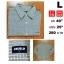เสื้อเชิ้ตแขนยาว เสื้อเชิ้ต UNIQLO Size L thumbnail 1