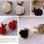 ต่างหูแฟชั่น ลาย กุหลาบ แดง thumbnail 2