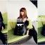 กระเป๋าแฟชั่นทรงเสื้อสูทสีดำออกแบบเก๋..ม๊ากมากค่ะ thumbnail 6