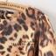 เดรสแฟชั่นเสื้อแขนสั้นลายเสือทรงปล่อยใส่แบบสบายๆ โทนสีน้ำตาล ไซส์ L thumbnail 9