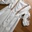 เดรสผ้าคอตตอนสีขาวปักลายสไตล์โบฮีเมียน thumbnail 5