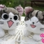 ตุ๊กตาแมวจี้ ไซด์ S (เลือหน้าที่ต้องการ) thumbnail 1