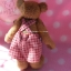 ตุ๊กตาหมีผ้าขนสั้นสีน้ำตาลขนาด 13 cm. - Cracker Boy thumbnail 3