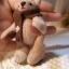 ตุ๊กตาหมีผ้าขูดขนสีโอวัลติน ขนาด 8 cm. - Ever thumbnail 6