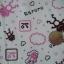 ผ้าคอตต้อนลายกบสีชมพู thumbnail 2