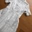 Dress เชิ้ตเดรสผ้าลูกไม้สีขาว thumbnail 7