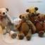 ตุ๊กตาหมีผ้าขน caramel ขนาด 14 cm. - Herbie thumbnail 5