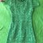 (Green) ชุดเดรสผ้าลูกไม้ถักทอทั้งชุด สีเขียวมรกต แต่งมุขด้านหน้าสลับเพชรเล็ก วิ๊งวิ๊ง สวยหรูมากค่ะ ซิปหลัง + ซับใน สินค้าจริงรูปสุดท้ายนะค่ะ thumbnail 2