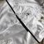 เชิ้ตเดรสขาวปักมุกตกแต่งผ้าลูกไม้พร้อมเข็มขัด thumbnail 9