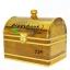 กระปุกถังออมสินแบบกำปั่นไกปืนคาดทอง ขนาด 7 นิ้ว thumbnail 5
