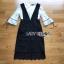 เสื้อผ้าลูกไม้สีขาวทับด้วยเดรสสีดำตกแต่งลูกไม้ thumbnail 3