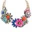 พร้อมส่งจ้า ZARA flower statement necklace thumbnail 1