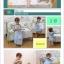 เสื้อคลุมนอน / ชุดคลุมนอน ถุงนอน สำหรับเด็กเล็กเด็กโต แก้ปัญหาเด็กถีบผ้าห่มค่ะ. ใช้ได้ตั้งแต่ 4 เดือน ถึง 4 ปีค่ะ มี 2 สี ฟ้า / ชมพู (ระบุสีที่ต้องการในช่องหมายเหตุตอนสั่งซื้อค่ะ) thumbnail 4