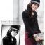 Tian-Mu เสื้อแฟชั่นแขนยาวผ้ายืด thumbnail 2
