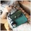 (พร้อมส่ง)กระเป๋าแฟชั่น สีเขียว