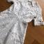 Dress เชิ้ตเดรสผ้าลูกไม้สีขาว thumbnail 5