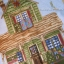 A Quilter's Home Panel Tan/Blue thumbnail 3