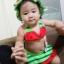 หญิง ชุดว่ายน้ำเด็กหญิง ลายแตงโม มี size สำหรับ 2-6 ขวบ ใช้แล้วซักตาก ห้ามแช่ เพื่อยืดอายุการใช้งานค่ะ) thumbnail 5