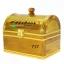 กระปุกถังออมสินแบบกำปั่นไกปืนคาดทอง ขนาด 7 นิ้ว thumbnail 8