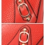 Maomaobag กระเป๋าสะพายสีส้มทรงสวยก้นทรงรี ด้านหน้าเป็นลายหนังจรเข้ thumbnail 6