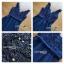 เดรสผ้าทูลเลสีน้ำเงินปักลายดอกไม้ thumbnail 5