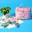 พร้อมส่งค่ะ กระเป๋าเครื่องสำอางค์ Hello Kitty bunny ทรงรี thumbnail 8