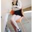 God is girl เสื้อผ้าแฟชั่นเกาหลี แขนยาวผ้ายืดเนื้อดีสีขาว thumbnail 3