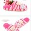 พร้อมส่ง รองเท้าแตะน้องหมีน่ารัก สีชมพู thumbnail 2