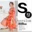 เดรสแฟชั่นเกาหลี สีแซ่บๆ โทนส้ม สวยสดใส สำหรับใคร ชอบสีแจ่มๆ จัดเลยค่ะ thumbnail 2