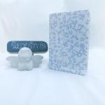 """ปกผ้าพื้นขาว กราฟฟิคโอลิมปิค เนื้อผ้าคอตต้อน ขนาด 7"""" ( Pocket Book )"""