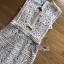 เดรสผ้าลูกไม้สีขาวพร้อมซับในสีเนื้อสไตล์เซ็กซี่ ลุคนี้มีความหวานแต่ซ่อนเซ็กซี่ ทรงชุดเป็นแบบเข้ารูป ป้าย Lady Ribbon thumbnail 11