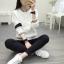 เสื้อคลุมแฟชั่น สีขาว ใส่่ได้ทุกฤดูสวยเท่ห์สไตล์เกาหลี thumbnail 8
