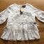 เสื้อผ้าคอตตอนตกแต่งผ้าทูลเลปักลายดอกไม้ตกแต่งชายระบาย ตัวนี้เป็นลุคสาวหวานสไตล์โบฮีเมียนแบบแบรนด์ Chloe เลยค่ะ ป้าย Lady Ribbon thumbnail 11
