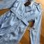 เชิ้ตเดรสผ้าคอตตอนสีฟ้าลายทางสไตล์เซ็กซี่ ลุคนี้เป็นสไตล์มินิมัลแต่แอบเซ็กซี่ ทรงเป็นเชิ้ตมีปก ป้าย Lady Ribbon thumbnail 11