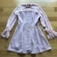 มินิเดรสผ้าชีฟองสีขมพูตกแต่งระบายและโบ ตัวนี้เป็นแนวคุณหนูหวานน่ารัก ป้าย Lady Ribbon นะคะ thumbnail 5
