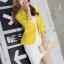 เสื้อสูทแฟชั่นผู้หญิงใส่ทำงาน สีเหลือง สไตล์เรียบหรู 5 size S/M/L/XL/XXL thumbnail 7
