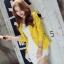 เสื้อสูทแฟชั่นผู้หญิงใส่ทำงาน สีเหลือง สไตล์เรียบหรู 5 size S/M/L/XL/XXL thumbnail 3