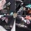 เดรสสั้น สีดำ สีน้ำตาลเนื้อผ้าcotton+polyester พิมพ์ลายผีเสื้อสีสันสดใส มีซับในอย่างดีค่ะ ดีเทลแขนยาวห้าส่วน ปลายแขนบานสวย กระโปรงระบายบาน ช่วงเอวมีเชือกผูกโบว์น่ารักๆ งานป้าย2sister thumbnail 12