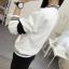 เสื้อคลุมแฟชั่น สีขาว ใส่่ได้ทุกฤดูสวยเท่ห์สไตล์เกาหลี thumbnail 9