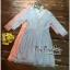 เดรสผ้าลูกไม้ สีฟ้า สีชมพู ทั้งตัวงานสไตล์เกาหลี เนื้อผ้าลูกไม้เนื้อนุ่มงานสวยลายแน่นมากค่ะ ทรงเดรสแขนยาวปิดศอก คอวีด้านหน้า เข้ารูปช่วงเอง กระโปรงทรงเอปล่อยใส่พลางหุ่นได้ดีทีเดียวค่ะ Confirm By Vvp สำเนา thumbnail 6