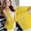 เสื้อสูทแฟชั่นผู้หญิงใส่ทำงาน สีเหลือง สไตล์เรียบหรู 5 size S/M/L/XL/XXL thumbnail 2