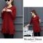 เสื้อแขนยาวสไตล์สาวเกาหลี มี 2 สี แดง /เขียว งานสวยมากค่ะ thumbnail 4
