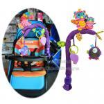 [นกฮูก] Sozzy โมบายติดรถเข็น คาร์ซีทหรือขอบเตียง Stroller Arch Toy