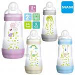 [9oz/260ml] ขวดนมป้องกันโคลิคพร้อมจุกนม Mam Easy Start Anti-Colic