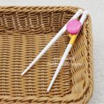 [ชมพู] ตะเกียบสไตล์ญี่ปุ่นหัดคีบสำหรับเด็ก