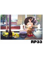 ภาพสำหรับประดับตกแต่งบ้าน ร้านสปา คอนโด โรงแรม รีสอร์ท RP - 33