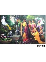 ภาพสำหรับประดับตกแต่งบ้าน ร้านสปา คอนโด โรงแรม รีสอร์ท RP - 74