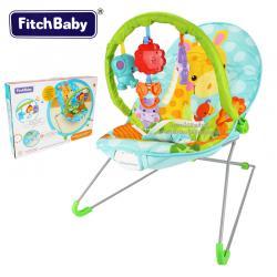 เปลเด็กระบบสั่นลายยีราฟ Fitch Baby Musical Bouncing Fun