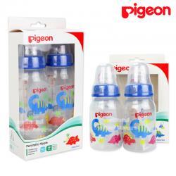 [แพ็คคู่] Pigeon ขวดนม RPP พร้อมจุกเสมือนนมมารดา รุ่นมินิ