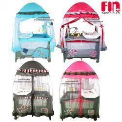 เตียงนอนเด็ก เปลเพน Farlin Playpen Fin babies plus (CAR-P9032)